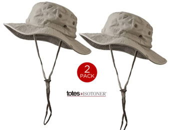 78% off Totes-Isotoner Khaki Boonie Outback Outdoors Sunhats