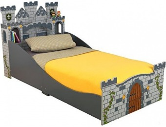 75% off KidKraft Boy's Medieval Castle Toddler Bed