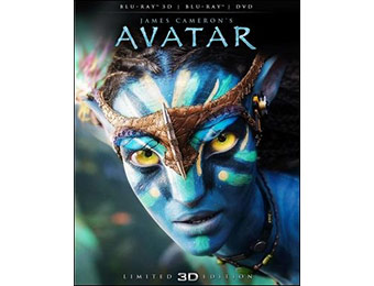75% off Avatar (Blu-ray 3D + Blu-ray/ DVD Combo Pack)