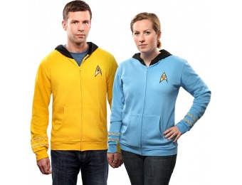 67% off Star Trek The Original Series Uniform Hoodie