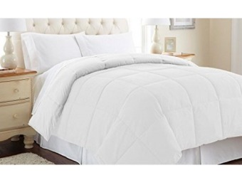 92% off Down Alternative Reversible Comforter Queen, 12 colors
