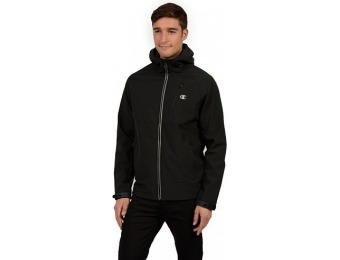 60% off Men's Champion Softshell Hooded Performance Jacket