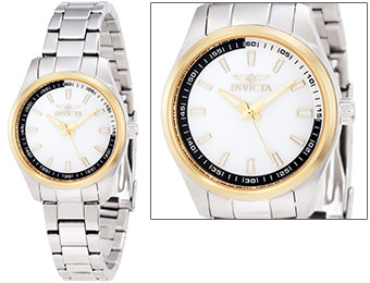 90% off Invicta Mother-Of-Pearl Dial Women's Watch