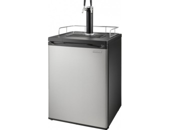 $205 off Insignia 2-tap Kegerator Cooler - Stainless Steel