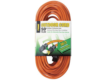 30% off Coleman Cable 50 ft. Outdoor Extension Cord