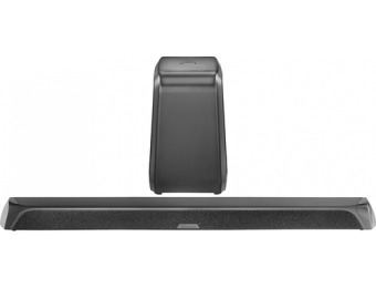 65% off Insignia 2.1-channel Soundbar With Wireless Subwoofer