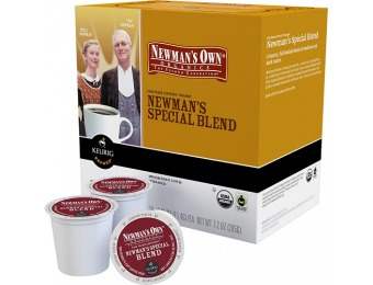 38% off Keurig Newman's Own Organics Extra Bold Coffee 18-pack