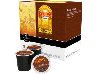 43% off Timothy's Kahlua Coffee K-cups (18-pack)