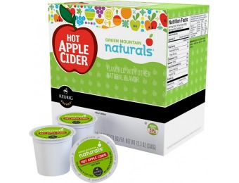33% off Keurig Green Mountain Hot Apple Cider K-cups (16-pack)