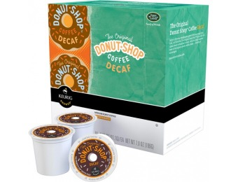 25% off Coffee People Donut Shop Decaf Coffee K-cups (18-pack)