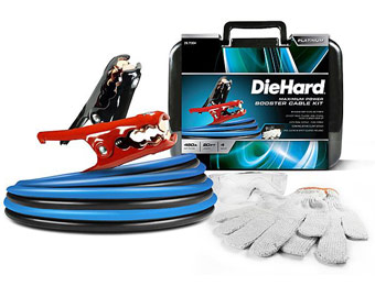 $30 off DieHard Platinum 20ft. 450A 4 Gauge Booster Cable Kit