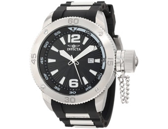 $595 off Invicta 12963 Force Black Textured Swiss Men's Watch