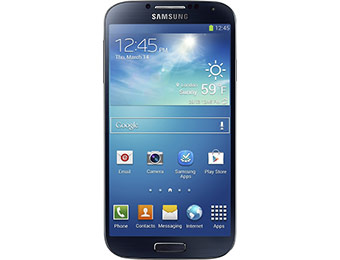 $150 off Samsung Galaxy S4 I9500 4G Unlocked Mobile Phone (Black)
