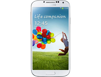$150 off Samsung Galaxy S4 I9500 4G Unlocked Mobile Phone (White)