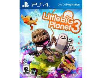 83% off Little Big Planet 3 - Playstation 4