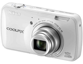 $129 off Nikon Coolpix S800c Android Wi-Fi 16MP Digital Camera