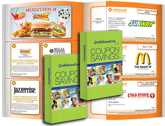 86% off All 2013 Entertainment Coupon Savings Books, Two for $10
