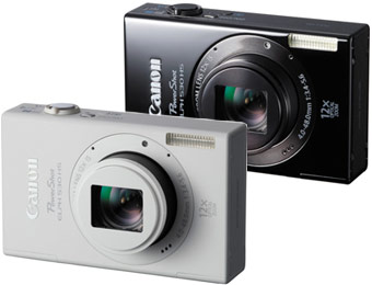 $180 off Canon PowerShot ELPH 530 HS 10.1MP Wi-Fi Digial Camera