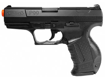 62% off Spring Walther P99 Pistol Black FPS-300 Airsoft Gun