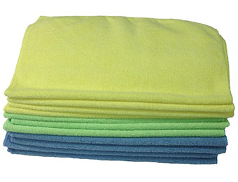 61% off Zwipes Microfiber Cleaning Cloths (12-Pack)