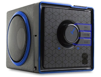 64% off GOgroove Portable Speaker System w/ code: EMCXNWP87