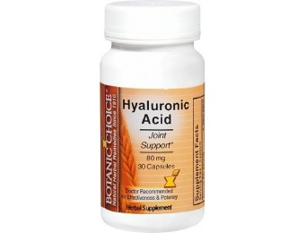 89% off Botanic Choice Hyaluronic Acid 80 mg Herbal Supplement