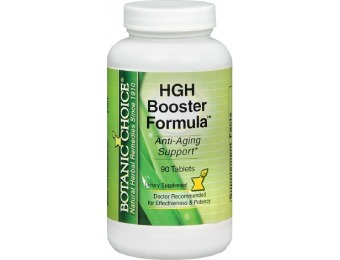 85% off Botanic Choice HGH Booster Formula Supplement