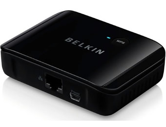 71% off Belkin F7D4555 Universal Wireless Dual-band HDTV Adapter