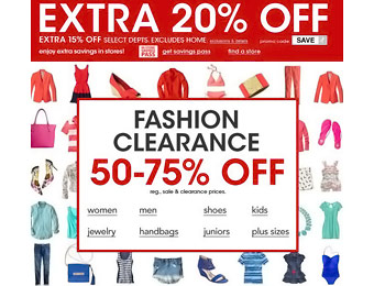 Save Up to an Extra 20% off Sitewide at Macy's w/code: SAVE