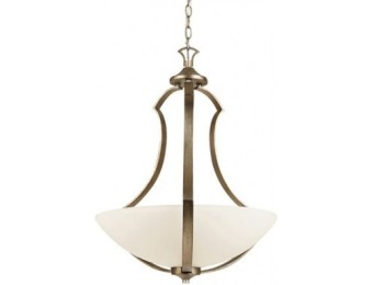 68% off TransGlobe Lighting Silver Leaf 3 Light Pendant
