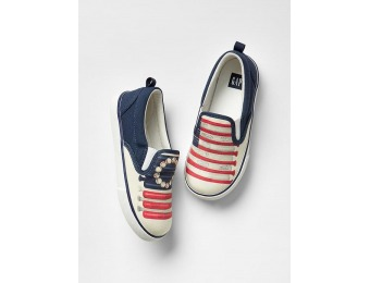 50% off Gap Photo Real Slip On Sneakers