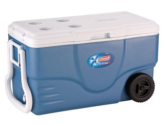 58% off Coleman 62 Quart Xtreme Wheeled Cooler