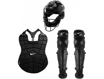 80% off Youth Nike All-in-One Catchers Gear Set, Black