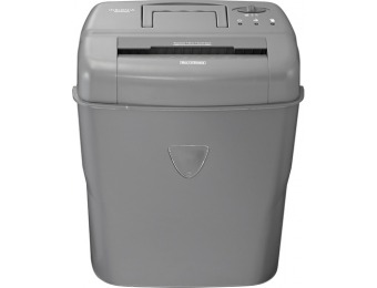 36% off Insignia 10-sheet Crosscut Shredder