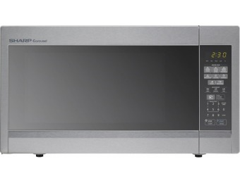 44% off Sharp 1.8 Cu. Ft. Full-size Microwave - Stainless Steel