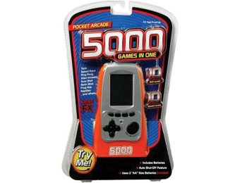 56% off 5000 Games in One Pocket Arcade Handheld Electronic Game