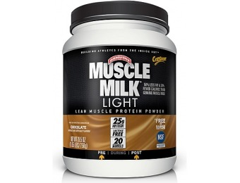 54% off CytoSport Muscle Milk Light - Chocolate Milk