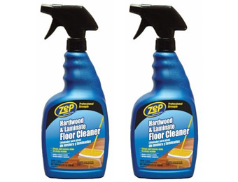 84% off ZEP 32 oz. Hardwood and Laminate Floor Cleaner, 2-Pack