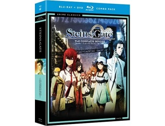 80% off Steins Gate: Complete Series Classic (Blu-ray)