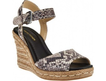 74% off Marc Fisher Peep-toe Espadrille Wedges - Maiseey