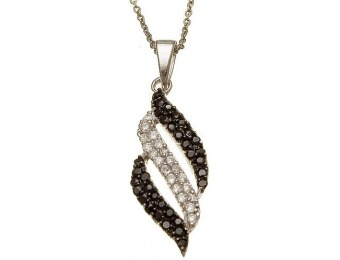 92% off Sterling Silver Cubic Zirconia Pendant