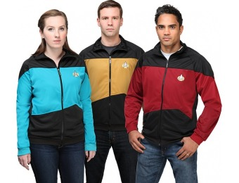 83% off Star Trek TNG Unisex Track Jacket