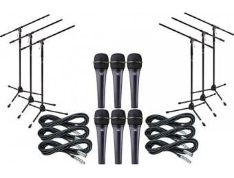 82% off Electro-Voice Cobalt 7 Six Pack With Cables & Stands