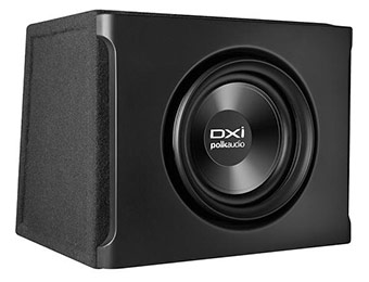 "47% off Polk Audio DXI108 8"" 2-Ohm Subwoofer with Enclosure"