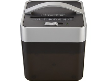 43% off Insignia 6-sheet Crosscut Countertop Mail Shredder