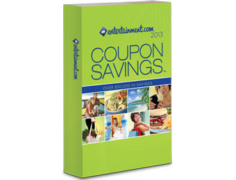 83% off 2013 Entertainment Coupon Savings Books