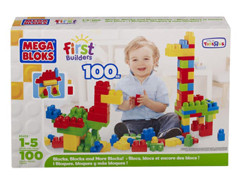 60% off Mega Bloks First Builders 100-Count Box of Blocks