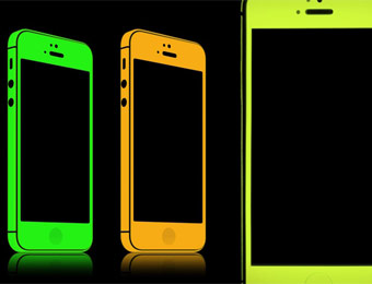 80% off SlickWraps Glow Series Protective Film for iPhone 5
