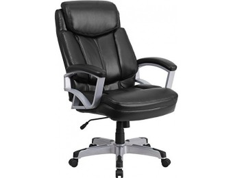 $405 off HERCULES 500 lb. Capacity Leather Executive Swivel Chair