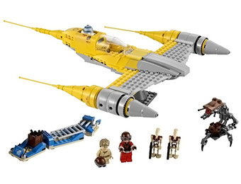 $11 off LEGO Star Wars Naboo Starfighter #7877